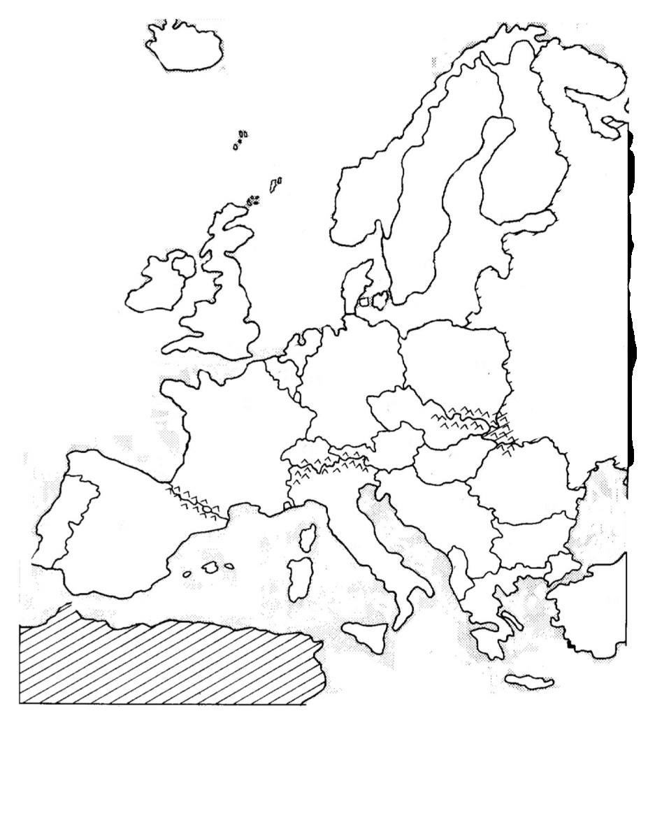 Pics Photos - Eastern Europe Map Blank
